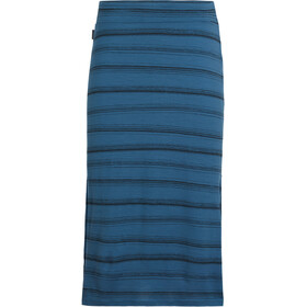 Icebreaker Yanni Midi Rock Damen thunder/black/scratch stripe